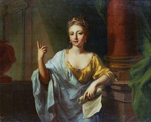 Polyhymnia by Johann Heinrich Tischbein