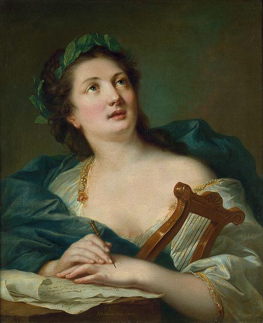 Terpsichore by Johann Heinrich Tischbein
