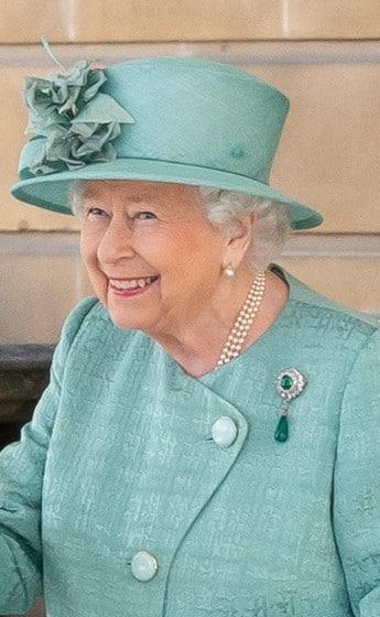 Queen Elizabeth II June 2019